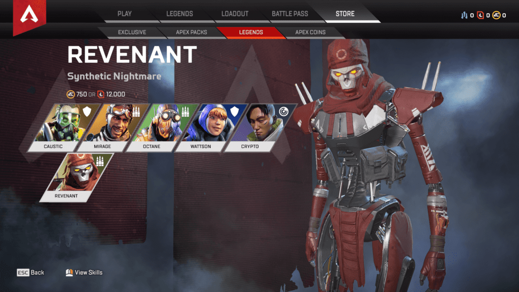Apex Legends Season 4 Assimilation Hadir dengan 100+ Exclusive Items - Revenant