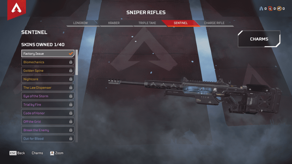 New Weapon Sentinel Sniper Riffle
