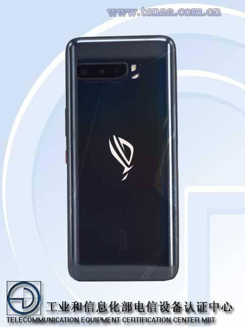 ASUS ROG Phone 3 - Desain Bagian Belakang
