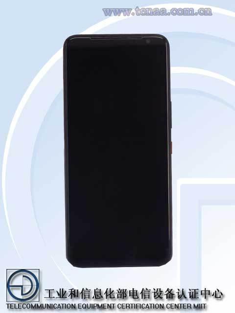 ASUS ROG Phone 3 - Desain Bagian Depan