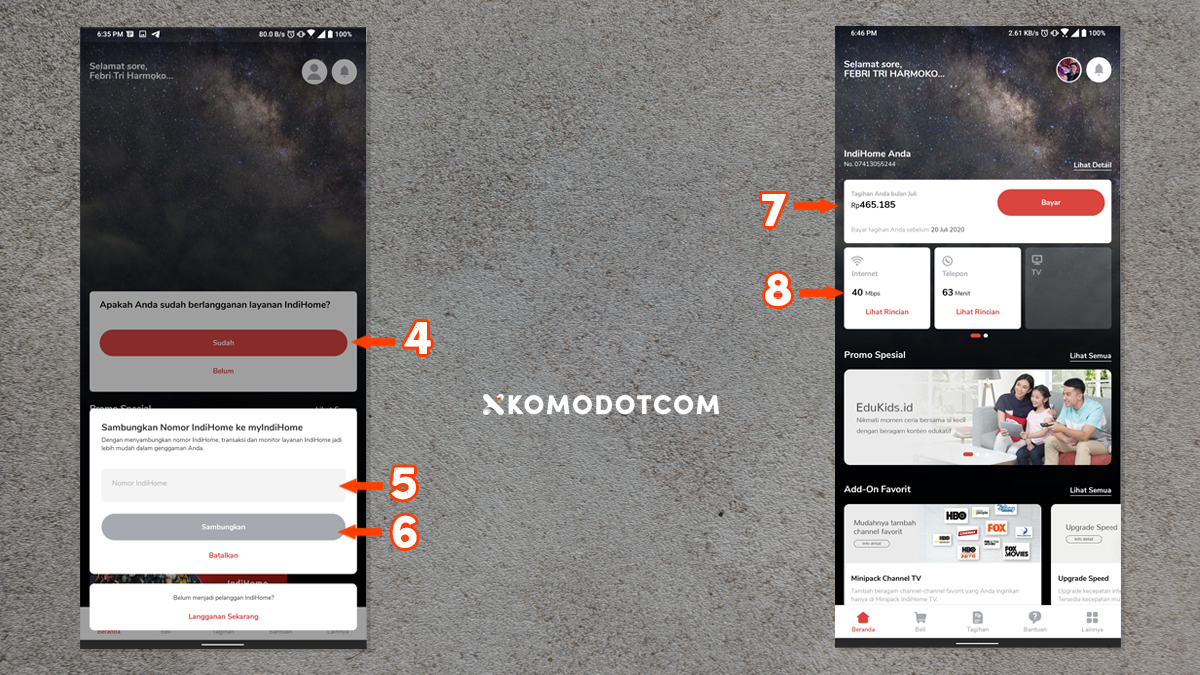Cara Cek Tagihan Indihome Menggunakan Aplikasi myIndiHome