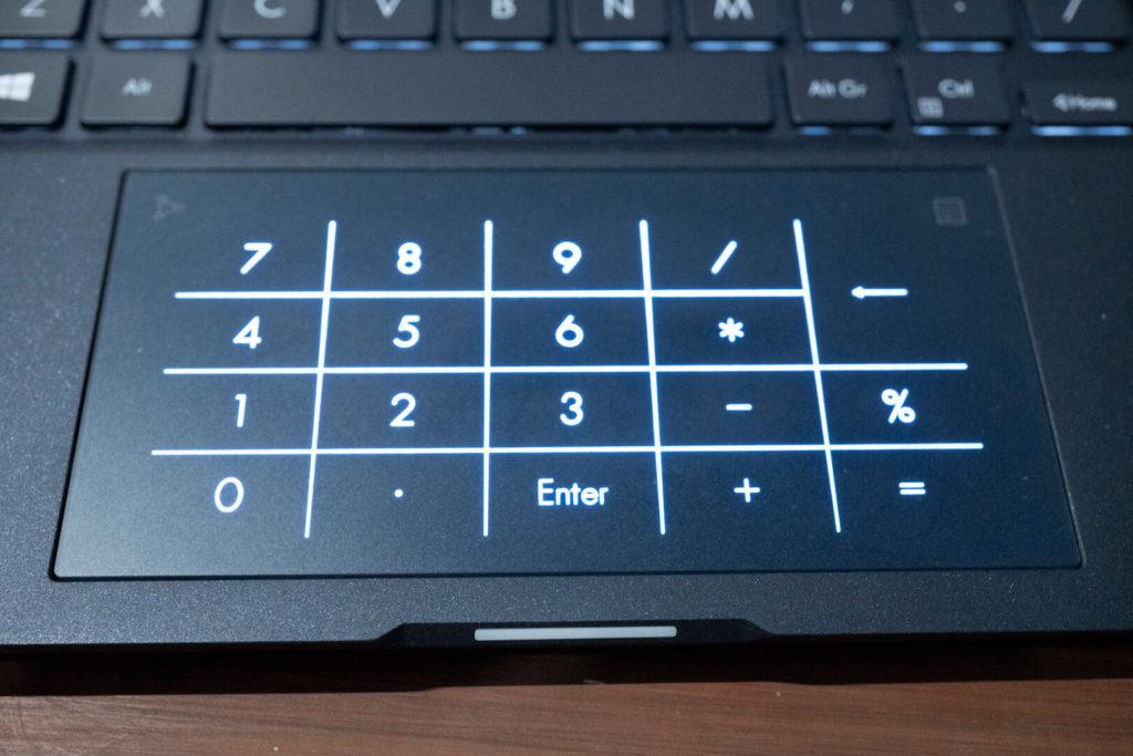 ASUS ExpertBook B9 B9450 - Numberpad