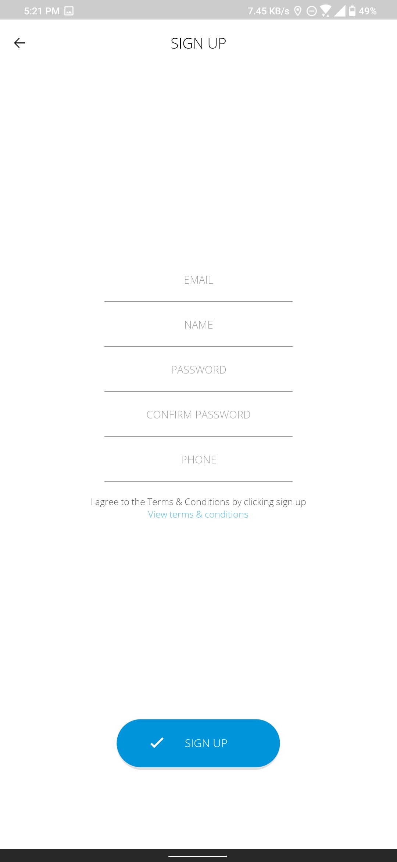 Masukan Data Valid di Aplikasi OKHOME