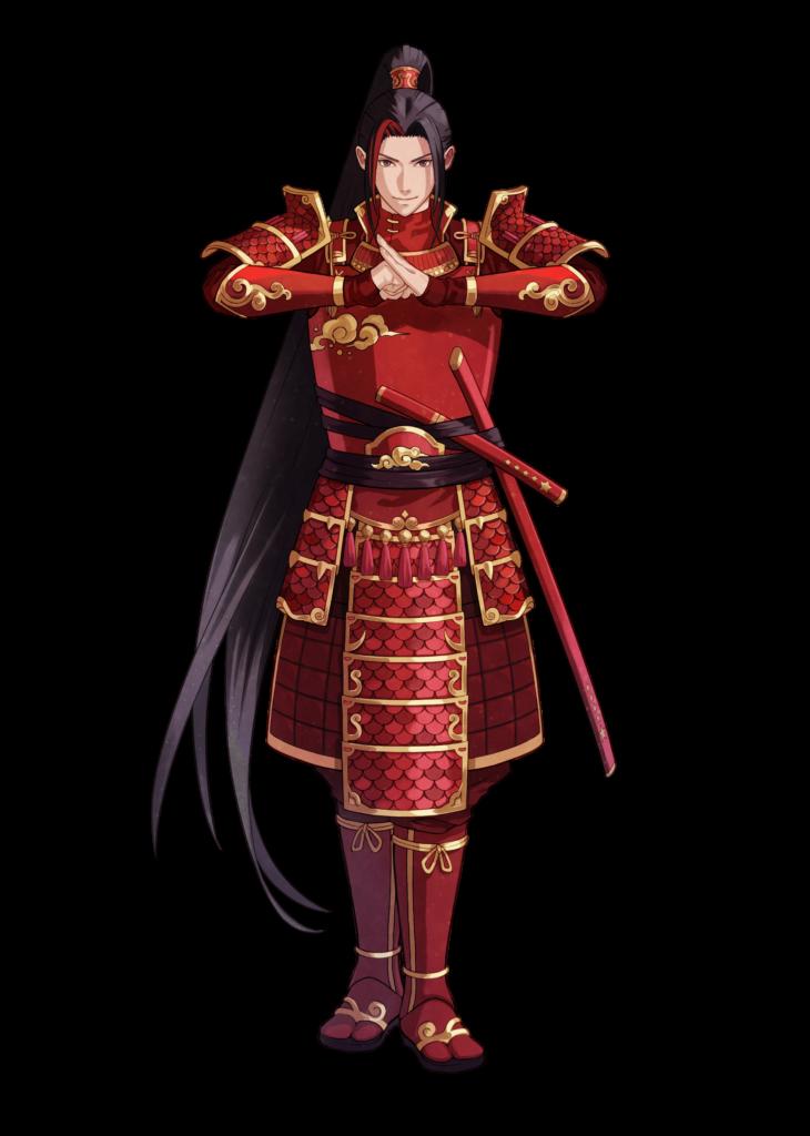 Karakter Anime Bendera Cina