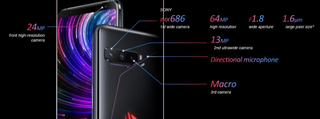 Kamera ROG Phone 3