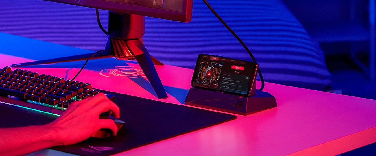 ROG Phone 3 - Mobile Desktop Dock