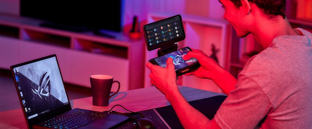 ROG Phone 3 - TwinView Dock 3