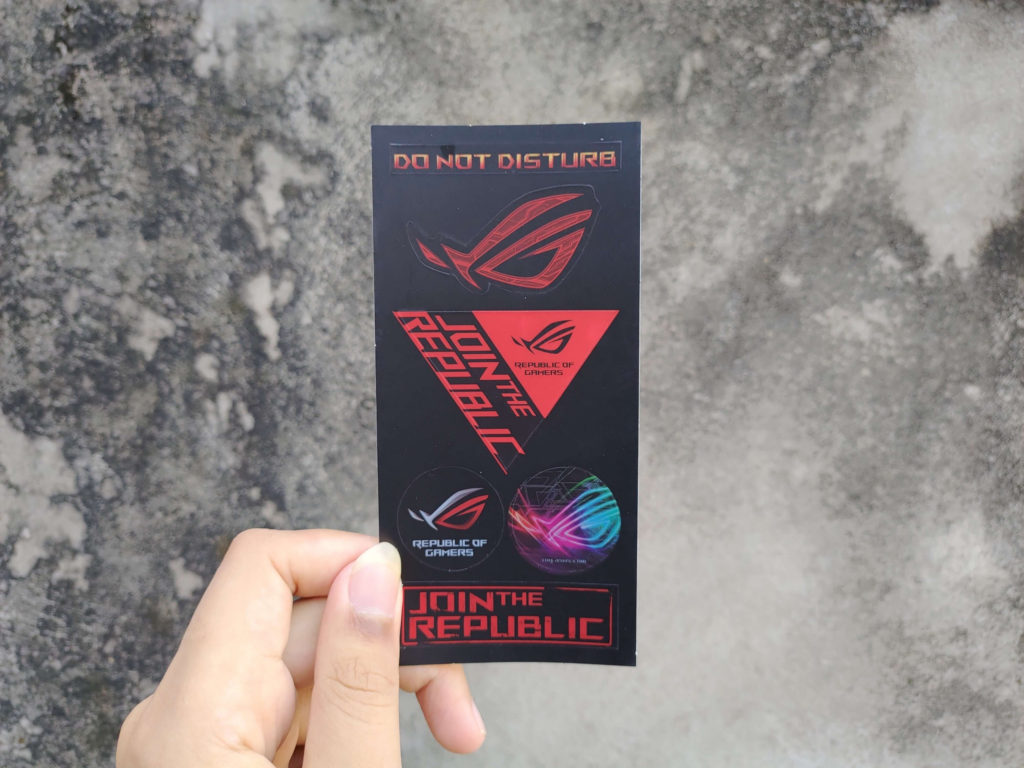 Sticker ROG Phone 3