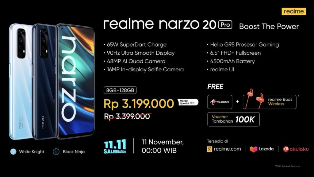 realme narzo 20 Pro Boost The Power