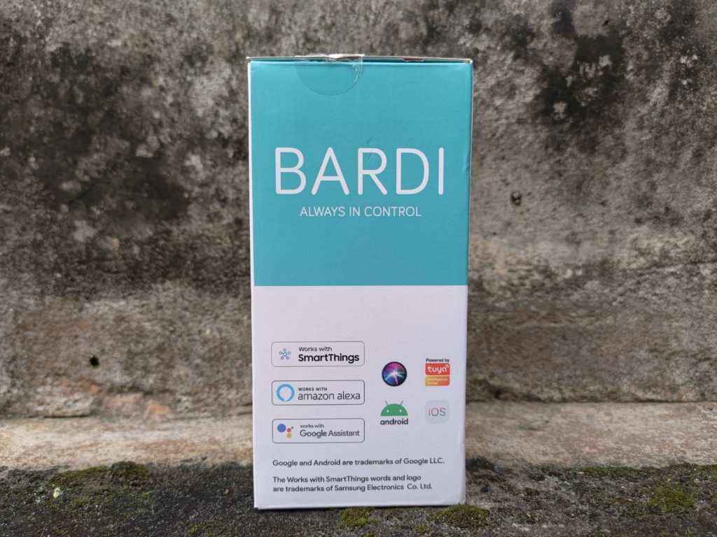 Box Bardi Smart Light Bulb 9W - Bagian Samping Kanan