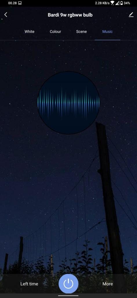 Review Bardi Smart Light Bulb 9W - RGBWW - Smart Life - Music Colour