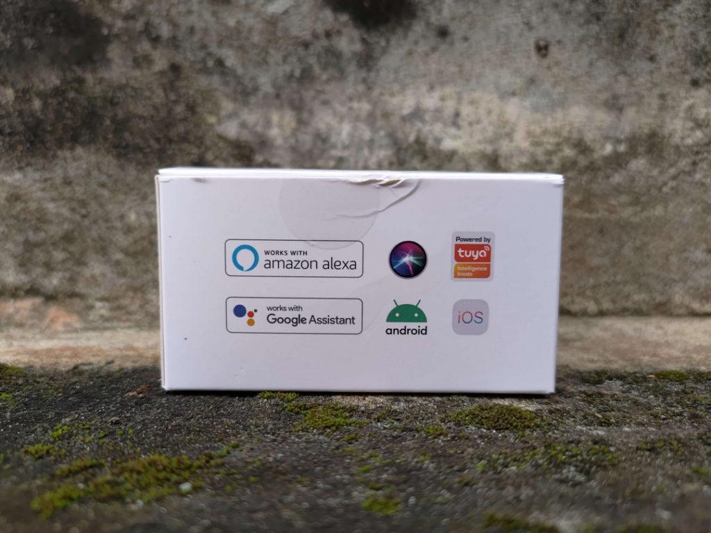 Tampilan Samping Kanan Box Bardi Smart IR Remote 10M - BLK