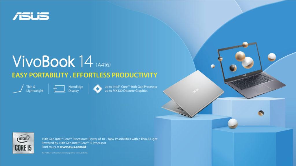 ASUS VivoBook 14 A416 Intel Core 10th Gen