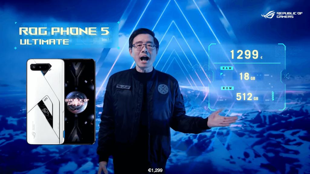 Harga Resmi ROG Phone 5 Ultimate