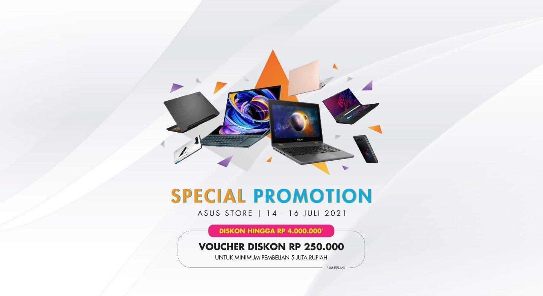 ASUS Online Store Promo