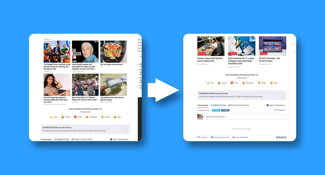 Cara Menghilangkan Iklan Disqus dengan Kode CSS