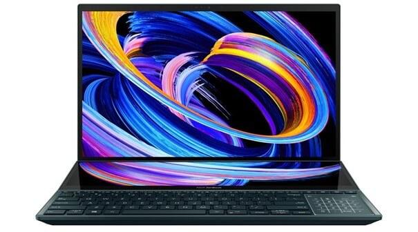 Desain ASUS ZenBook Pro Duo 15 OLED (UX582)