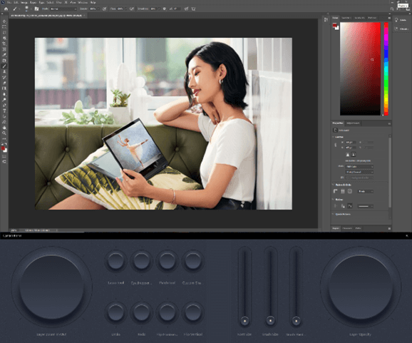 User Interface ASUS ZenBook Pro Duo 15 OLED