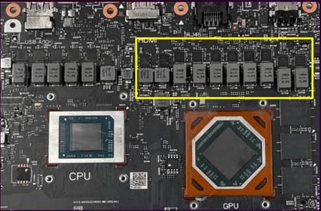 Desain GPU ROG Strix G15 Advantage Edition