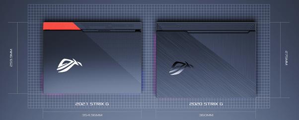 Tampilan Baru ROG Strix G15 Advantage Edition 2021